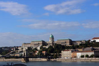 buildings of the Royal Palace in Buda