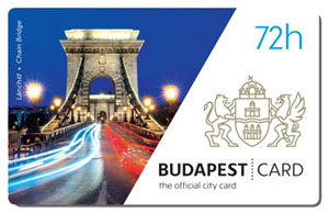72-hour City Card with the Chain bridge