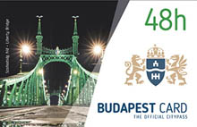 the green Liberty brigde on the 48h BP card