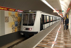 M2 Metro train