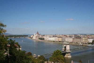 Budapest panorama