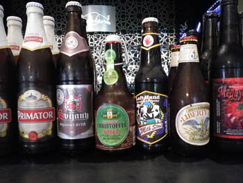 6 Czech bottled beers, various sizes
