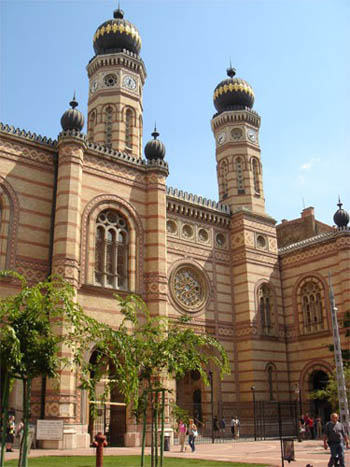 The Great Synagogue in Budapest Dohány Street