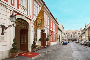 St. George Residence Hotel in Buda Castle