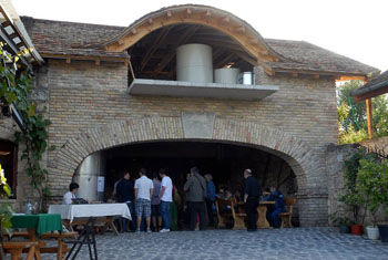 the stone cellar of Buzal-Morocza