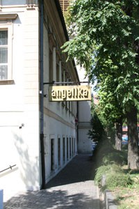 Angelika cafe entrance