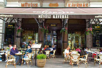 The original Művész Coffee House