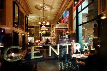 Central Cafe inside