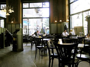 ground floor of Central cafe