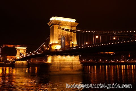 Chain Bridge, Budapest by Night