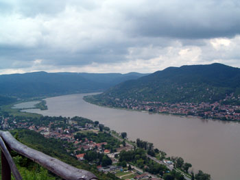 The Danube Bend at Visegrád