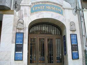 entrance of Ernst Museum