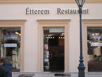 Fozelékfaló Restaurant Budapest