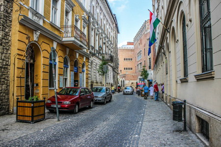Kazinczy Street Budapest Jewish Quarter Culture Hub