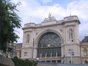 Keleti Train Station in VIII. district