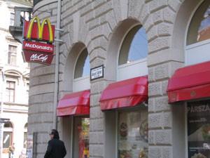 McDonalds on Jozsef Körút