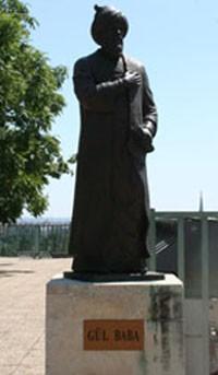 statue_of_gul_baba_budapest
