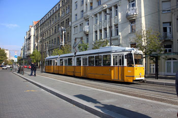the yellow tram 2