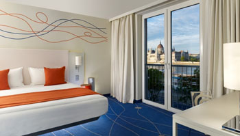 a suite in Art 'Otel Budapest