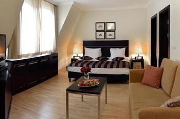 a suite in Leonardo Hotel