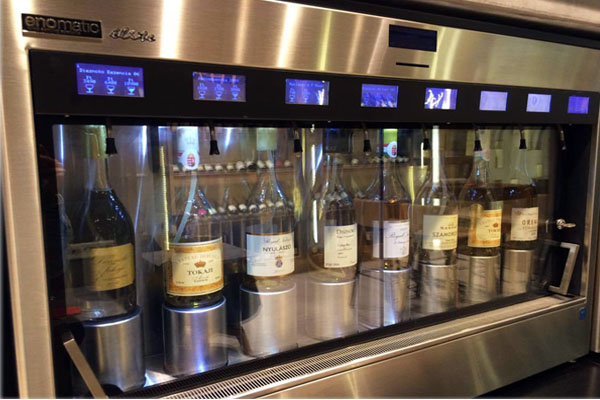 wine tasting machine