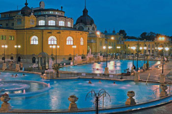 Entry to the Széchenyi and Gellért Baths in Budapest-Package with ...