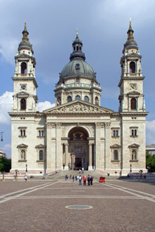 The basilica and Szt. istván Square