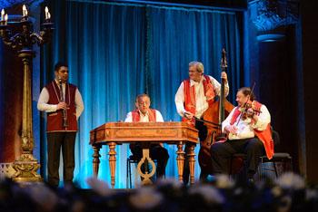 Gypsy orchestra concert in the Vgado Hall