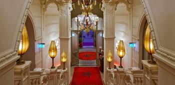The Buddha Bar Hotel's impressive interior