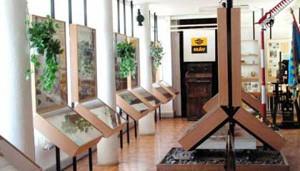 exhibit hall in the Children's Railway Museum