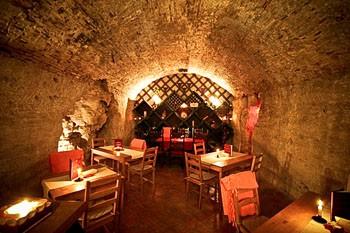 inside Faust Wine Cellar
