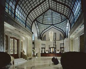 the spectacular Lobby