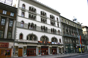 the facade of Urania