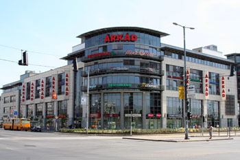 Hungary, Budapest, Pest, West End City Center shopping mall