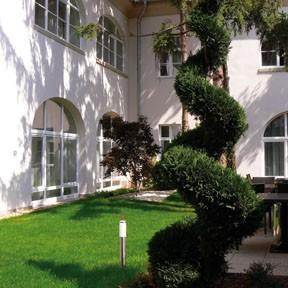 garden of Buda Castle Hotel