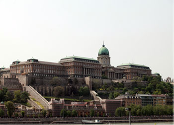 Royal Palace from Pest