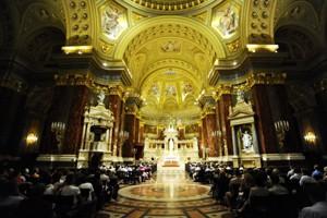 the basilica's interior