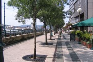 Danube Promenade (Duna Korzó) in Pest