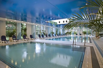 indoor pool of the hotel