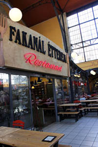 Entrance to Fakanal Restaurant