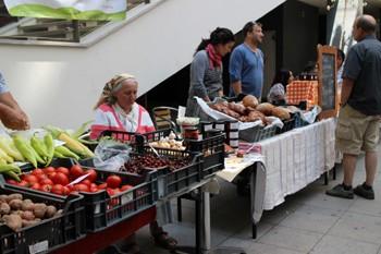 Farmers' Market (Kozos Piac) at the Godor Klub