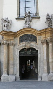 Entrance of the Franciscan Church