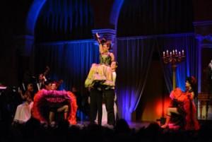 operaetta and dance show, Pesti Vigado