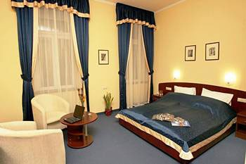 a double room in the hotel