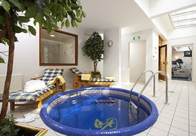 a small jacuzzi