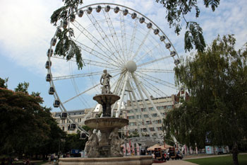 The Eye in Budapest's Erzsebet Square