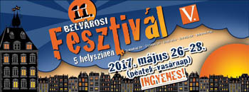 2017 poster of the Downtown Festival