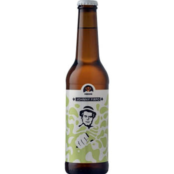 Johnny Firpo beer in 0,33L brown bottle