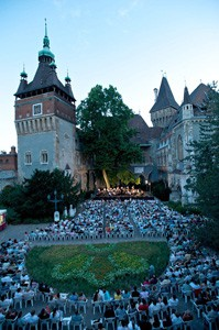 Summer concert in Vajdahunyad Castle