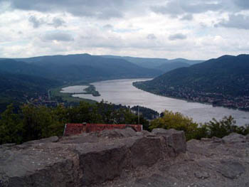 view of the Danube bend